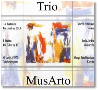 CD-Cover für Trio MusArto, 2003