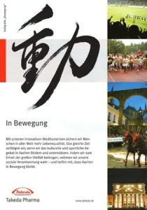 Anzeige von Takeda Pharma im Stadtmagazin Bad Aachen